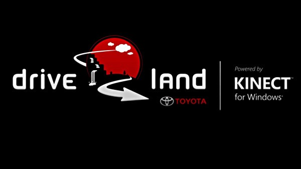 Toyota Driveland Experience for Kinect